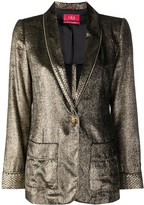 F.R.S For Restless Sleepers Metallic Blazer