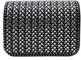 La Regale Python Pattern Crystal Crossbody Mini.