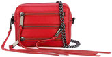 Rebecca Minkoff 5 zip crossbody bag - women - Cotton/Leather - One Size