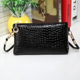 ABC Womens Shoulder Bag, Women's Leather Messenger Bag Crossbody Clutch Bag Shoulder Bag Handbag
