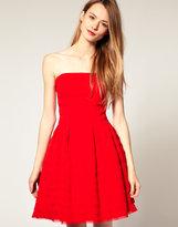 Pleated Bodice Prom Dress