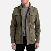 La Redoute Collections Cotton Utility Jacket in Mid-Length