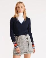Veronica Beard Alfie Tweed Skirt
