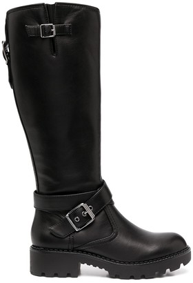 Buffalo David Bitton Buckle-Embellished Boots