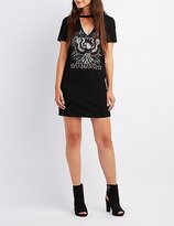 Charlotte Russe American Freedom T-Shirt Dress