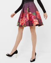 KLIRA Juxtapose Rose border skirt