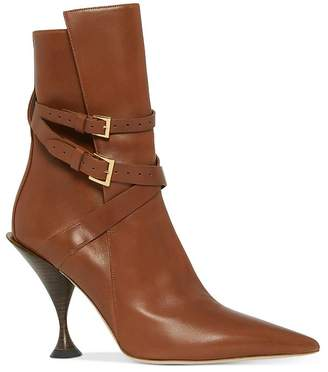 Burberry Women's Hadfield Pedestal Heel Boots