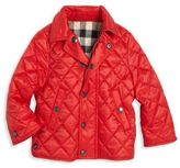 Burberry Baby's & Toddler Boy's Mini Luke Quilted Jacket