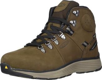 "Keen Men's Manchester 6"" Alloy Toe Waterproof Work Boot Construction Shoe"