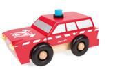 Janod SUV Fireman Magnet Kit