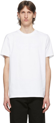 A.P.C. White Positively Normal T-Shirt