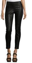 Elie Tahari Roxanna Leather Skinny Pants