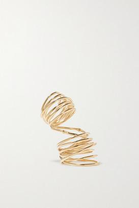 Sebastian Bound Gold Vermeil Ring - medium