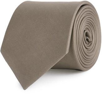 Reiss Aiden - Silk Tie in Taupe