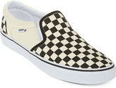 Vans Asher Checkered Mens Athletic Skate Shoes