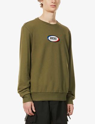 Diesel Girk-N85 cotton-jersey sweatshirt