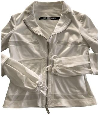 Dirk Bikkembergs White Jacket for Women