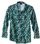 Mossimo Women's Button Down Blouse - Assorted Prints