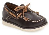 Kenneth Cole New York Toddler Boy's 'Flexy' Boat Shoe
