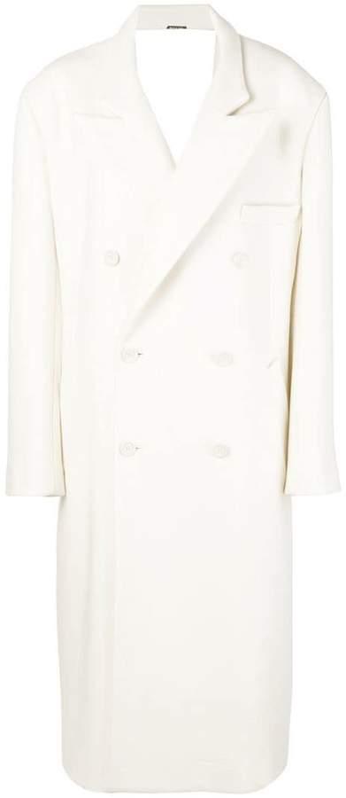 Maison Margiela double breasted coat