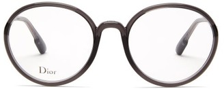 Christian Dior So Stellaire 2 Round Acetate Glasses - Grey
