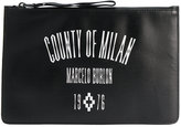 Marcelo Burlon County of Milan logo bag - men - Leather - One Size