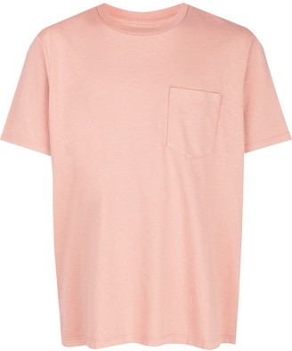 LES TIEN chest pocket cotton T-shirt