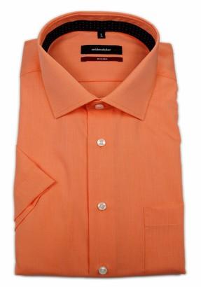 Seidensticker Men's Modern Kurzarm mit Kent Kragen bugelfrei Business Shirt