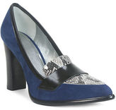 Tahari Aimee Stacked Heel Pumps
