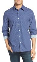 Jack Spade Men's Poplin Sport Shirt