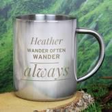 Sassy Bloom As seen on TV Personalised Metal Mug Gift