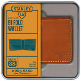 Stanley Bi Fold Leather Wallet, Tan