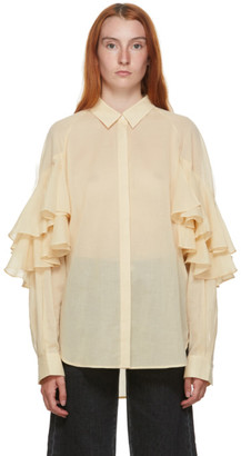 Totême Beige Locarno Shirt