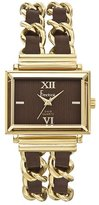 Freelook Women's HA1083G-2 Brown Dial Gold Tone Stainless Steel Watch