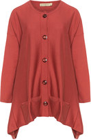 Isolde Roth Plus Size Cotton blend knitted cardigan
