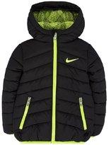 Nike Boys' Sportswear Puffer Infant Toddler Jacket Hoodie Black Volt 76B187-023