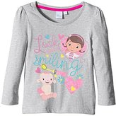 Disney Girl's HO1316 DC MC Stuffins Long Sleeve T-Shirt