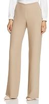Armani Collezioni Straight Wide-Leg Pants