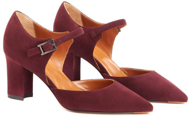 Aquatalia Mirabelle Waterproof Suede Pump