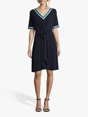 Betty Barclay Jersey Wrap Dress, Dark Sky