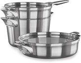 Calphalon Premier Space Saving 5-pc. Stainless Steel Supper Club Cookware Set
