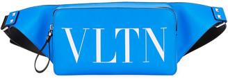 Valentino Men's VLTN Fluorescent Leather Belt Bag