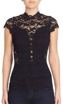Nightcap Clothing Day To Date Lace Top