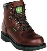"John Deere Boots 6"" Safety Toe Waterproof Lace-Up 6383"" Boot (Men's)"