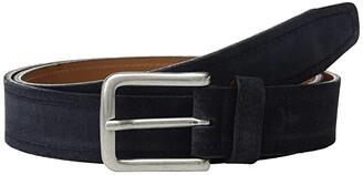 Trask Sutton Belt (Grey Suede) Men's Belts