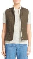 Belstaff Women's Westwell Reversible Faux Fur & Quilted Tech Vest