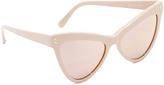 Stella McCartney Extreme Cat Eye Sunglasses