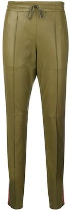 Joseph Matt side-stripe trousers