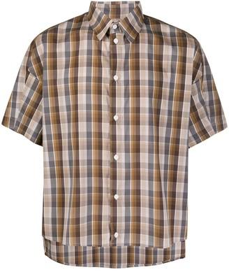 Goetze Check Short-Sleeve Shirt