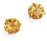 Bloomingdale's Citrine Stud Earrings in 14K Yellow Gold - 100% Exclusive